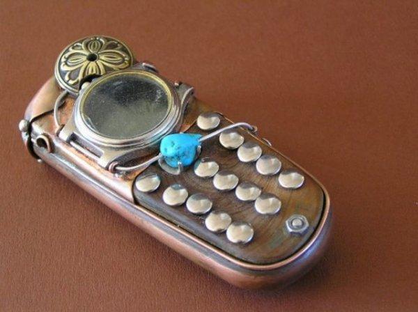 Стимпанковские телефоны
