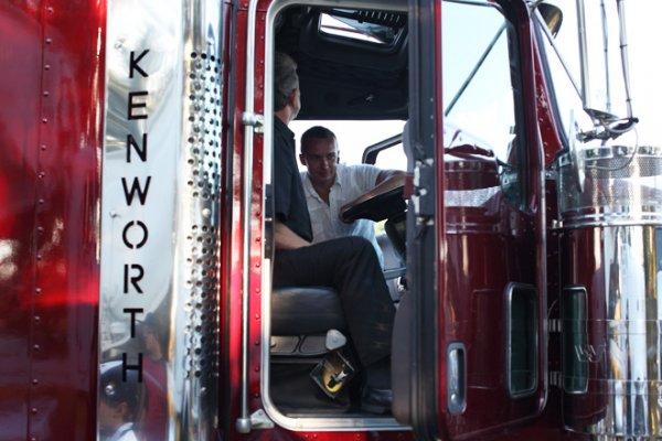 Жизнь и работа дальнобойщика в США