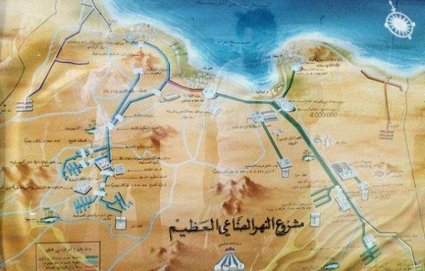 Каддафи убили из-за воды, а не нефти,