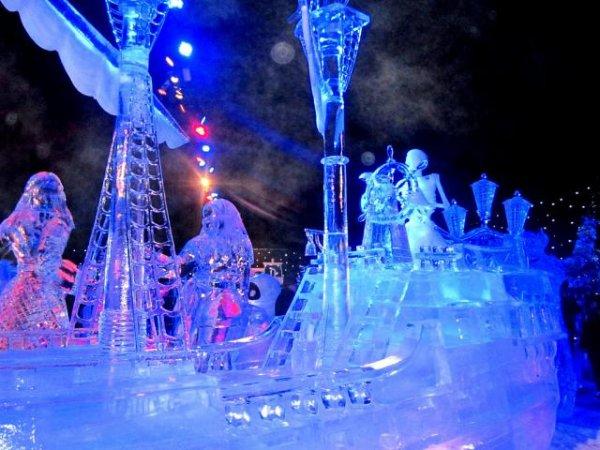 Фестиваль снега и льда в Брюгге