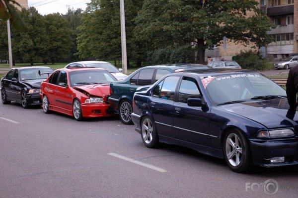 Встреча любителей BMW в Риге