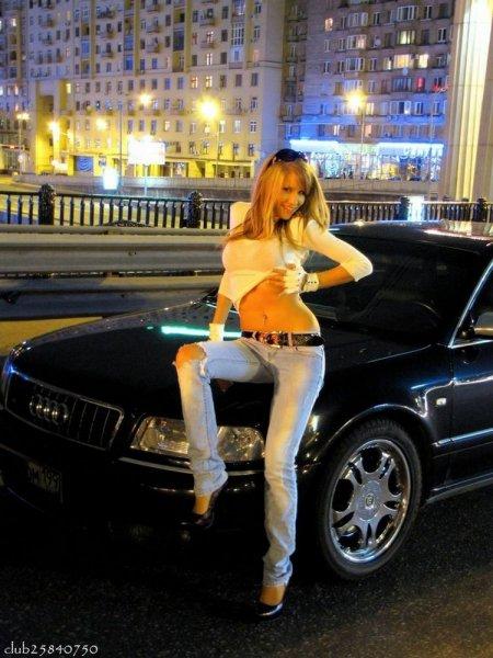 Русские красотки и нерусские тачки