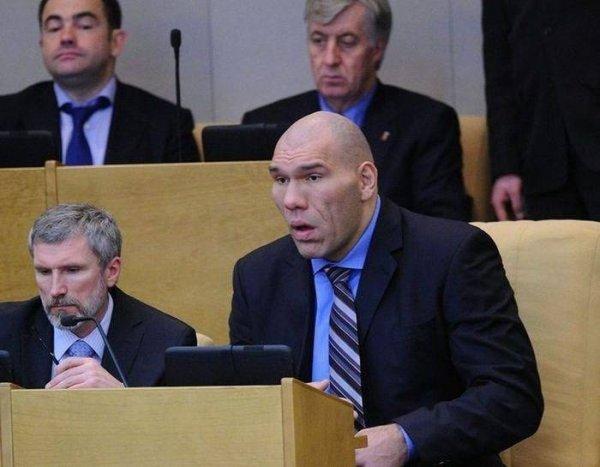 Специальное депутатское кресло Валуева