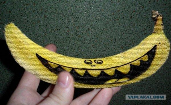 Как приличной девушке на улице банан кушать ?