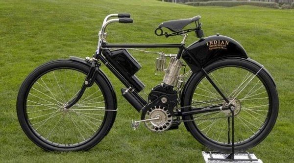 Ржавый велик с моторчиком?