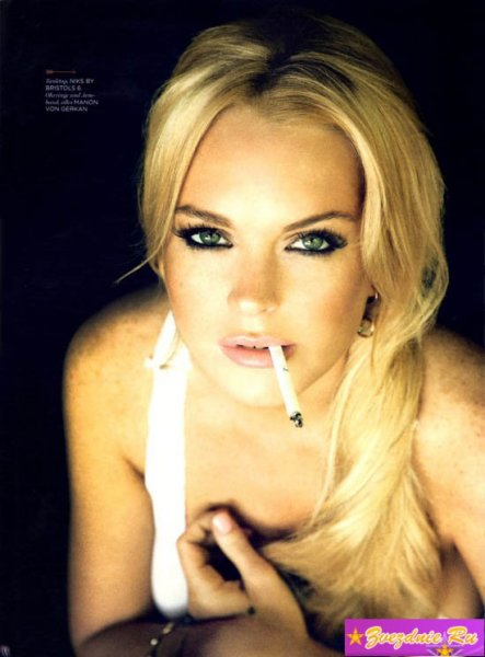 Линдси Лохан в журнале GQ