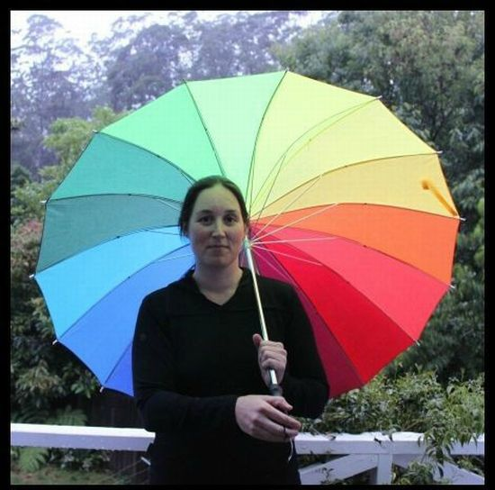 Радужный зонтик