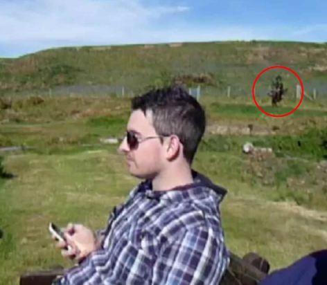 Призрак был пойман на камеру в Великобритании