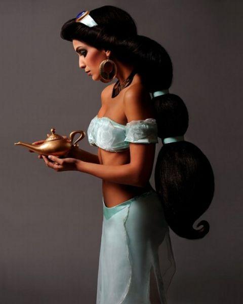Диснеевские принцессы в реальной жизни