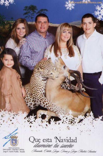 Жуткие и странные семейные фото
