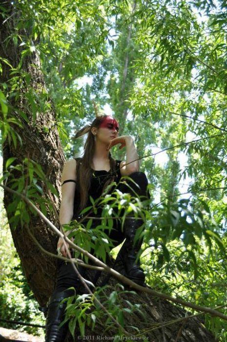 Готы любят деревья