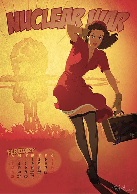 Календарь Apocalypse Tomorrow 2012