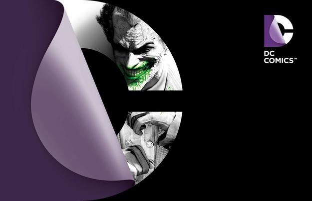 Новый логотип DC Comics
