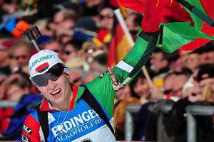 Дарья Домрачева выиграла масс-старт на этапе Кубка мира по биатлону в Антерсельве