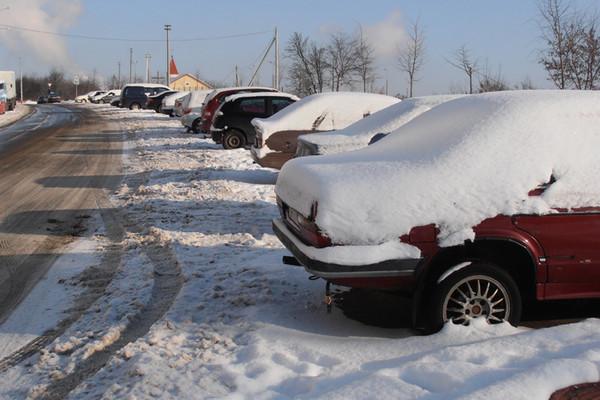 Минчане не хотят сами убирать снег