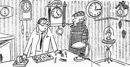 Инспектор Варнике: Часы и время