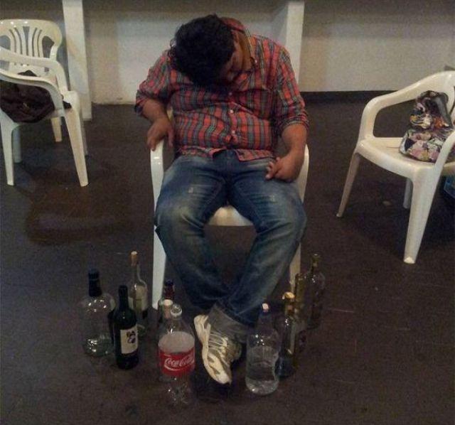 Пить с друзьями опасно!