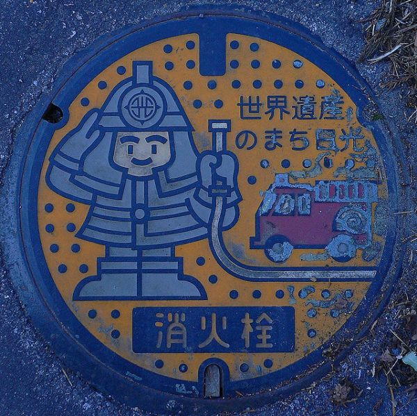 Такие в Японии люки