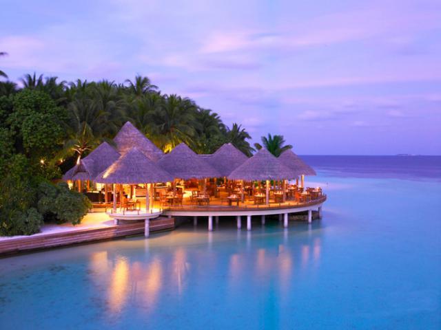 Остров-отель на Мальдивах