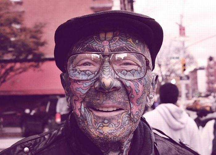 Старикашки с татуировками