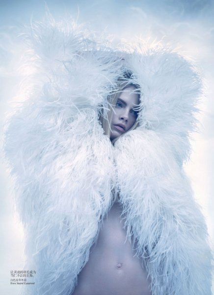 Sølve Sundsbø by Vogue China
