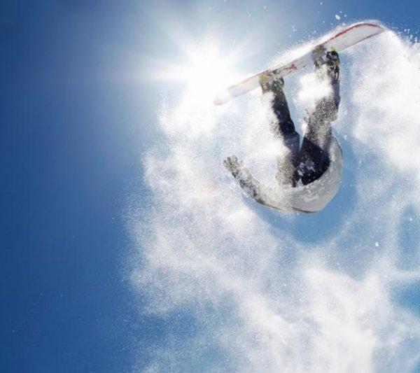Шикарные фото со сноубордами