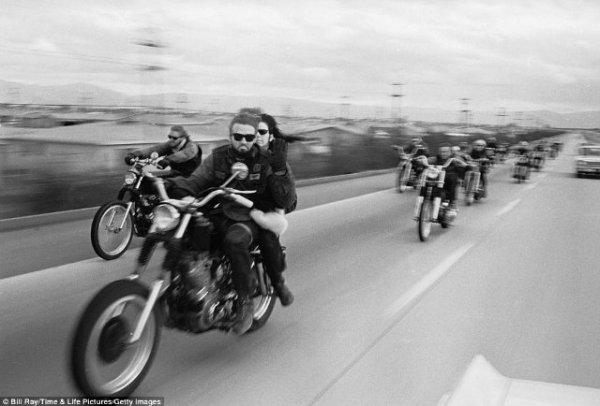 Ангелы ада, фотограф Bill Ray, 1965