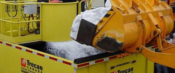 Минские коммунальщики все-таки опробуют снегоплавильную машину