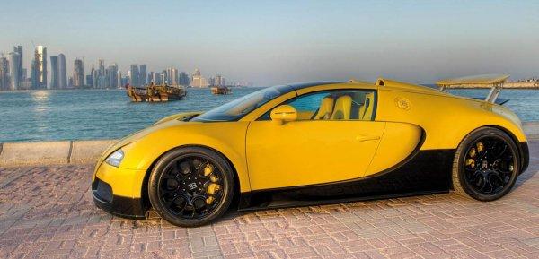 По капризу миллионера: необычный кабриолет от Bugatti