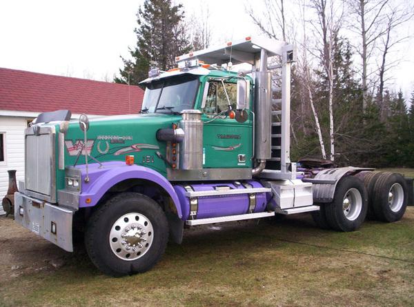 Красавцы-грузовики