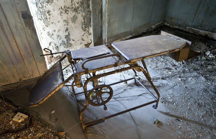 Заброшенная больница возле Бронкса