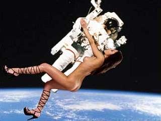 Будет ли место сексу в космосе?