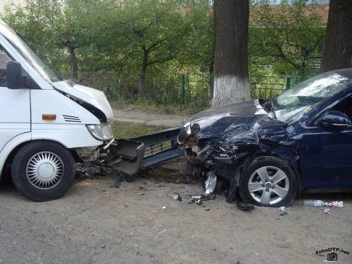 Жуткие фото с аварий