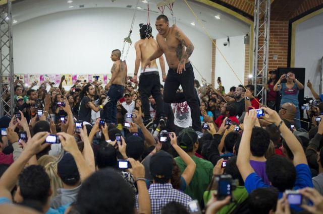 Слет монстров в Каракасе