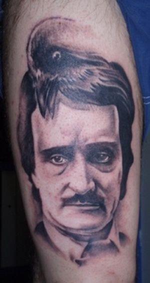 Татуировки с Эдгаром По