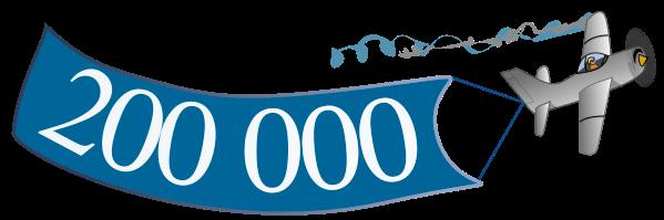 � �������� ��������� ������ � 200 ����� ������� ������