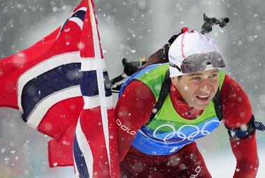 Уле-Эйнар Бьорндален одержал 93-ю победу в карьере