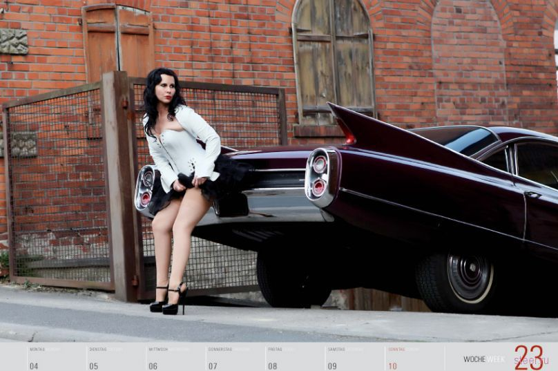 ��������� Girls and legendary US-cars 2012