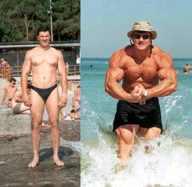 Качки: до и после