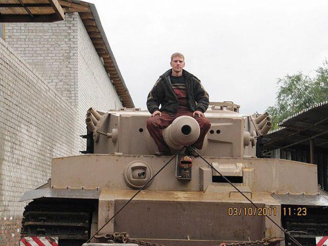 Как собрать танк в гараже