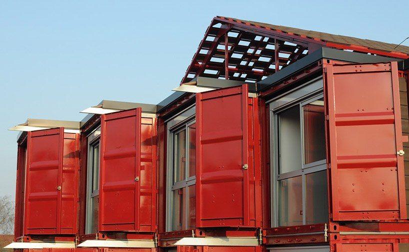 Очередной дом из контейнеров