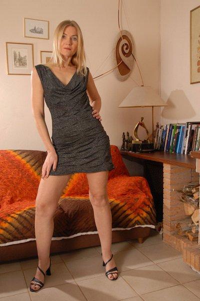 Правильное платье на тетке!