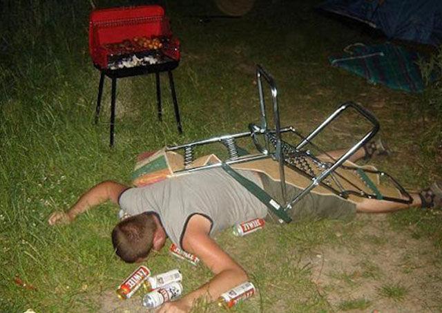 Если кто-то много выпил...
