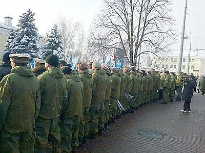 Воины-«афганцы» повернулись к Януковичу «ж.пой»
