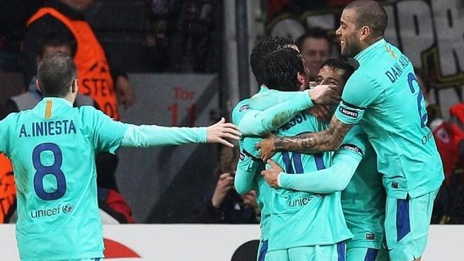 Лига Чемпионов УЕФА! 1/8 Финала! Результаты первых матчей!