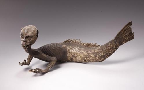 Ученые исследуют мумию русалки