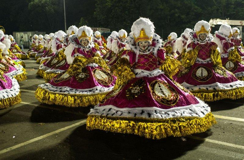 Еще фото с карнавала в Рио