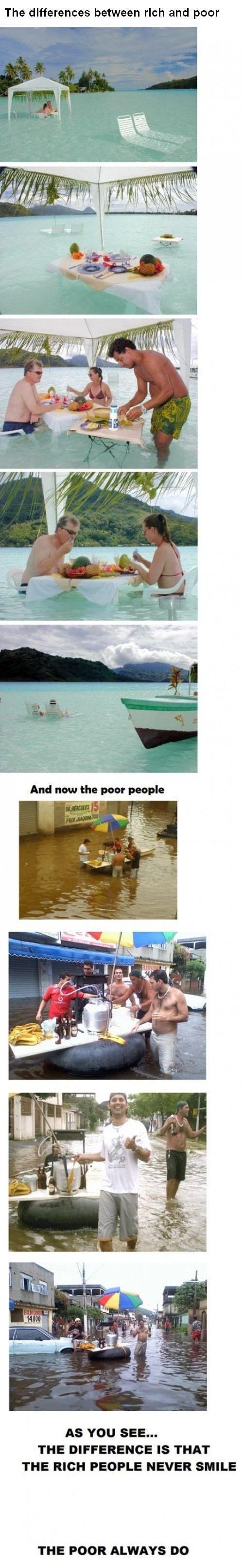 Пропасть между богатыми и бедными