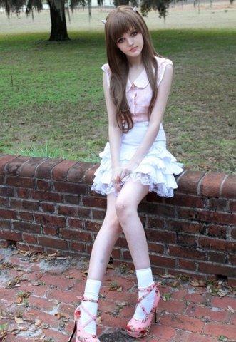 Кукла Барби во плоти