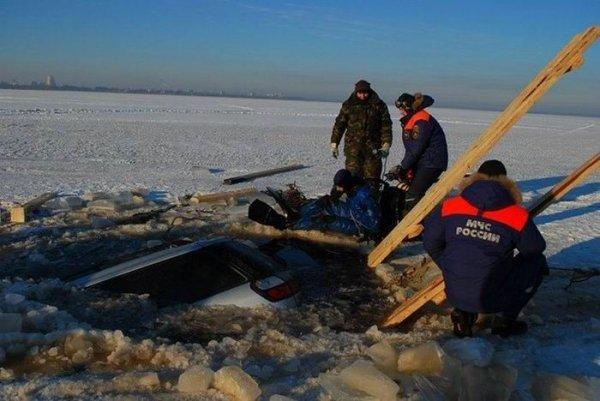 Погоняли по льду